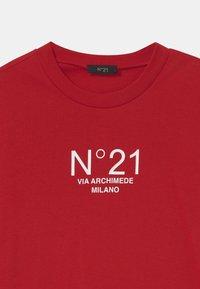 N°21 - MAGLIETTA UNISEX - Print T-shirt - red - 2