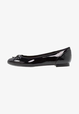 COUTURE BLOOM - Ballerinat - black