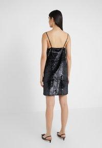 J Brand - BRIELLE SLIP DRESS - Vestito estivo - black - 2