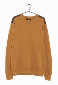 Next - Stickad tröja - brown - 0