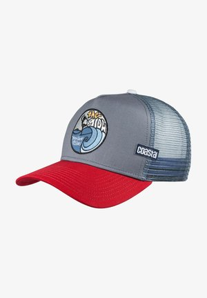 Cap - red/grey