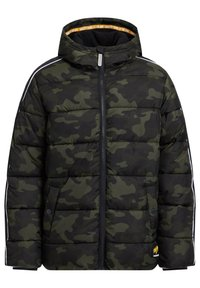 WE Fashion - MIT CAMOUFLAGEPRINT - Chaqueta de invierno - army green - 0