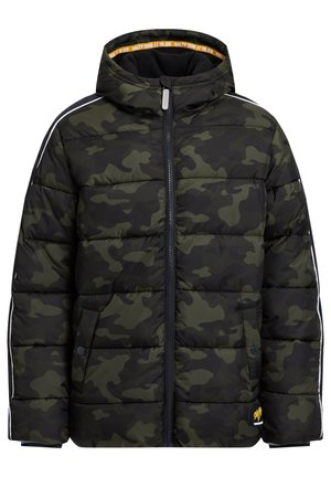 MIT CAMOUFLAGEPRINT - Winter jacket - army green