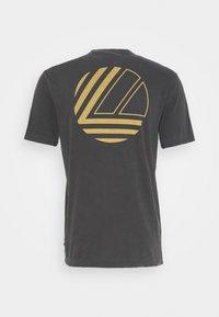 James Perse - GRAPHIC CREW NECK - Basic T-shirt - carbon - 1