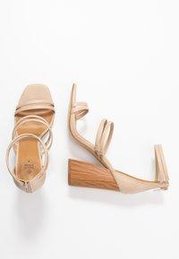 Call it Spring - GUVEN - High heeled sandals - bone - 3