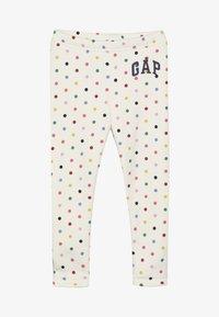 GAP - TODDLER GIRL ARCH - Leggings - multi/milk/pink - 2