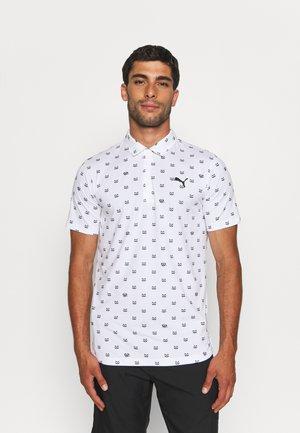 CLOUDSPUN BANDIT - Polo shirt - bright white