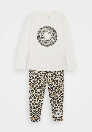 LEOPARD SET - Leggings - Trousers - egret