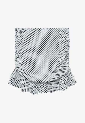 Mini skirt - weiß