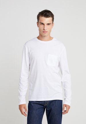WILLIAMS TEE - Long sleeved top - white