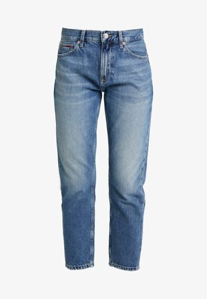IZZY HIGH RISE SLIM SNDM - Džíny Straight Fit - sunday mid