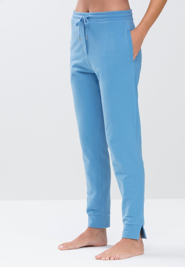 HOMEWEAR HOSE SERIE NIGHT2DAY - Pyjama bottoms - pacific blue