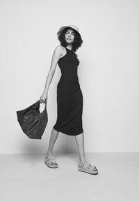 rag & bone - THE ESSENTIAL TANK DRESS - Maxi dress - black - 4