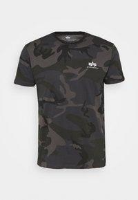 Alpha Industries - CAMO - Print T-shirt - black - 0