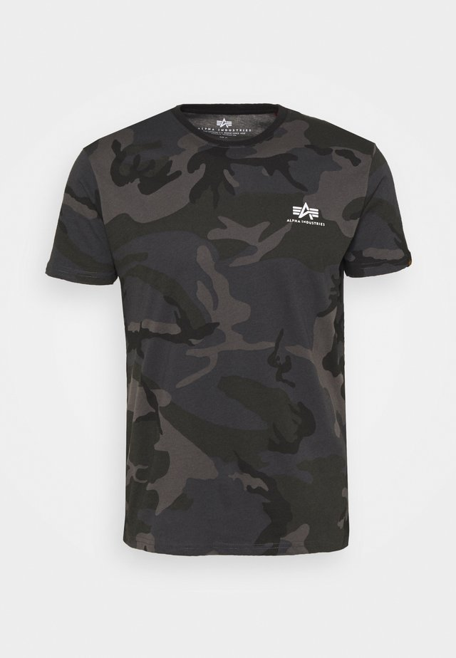 CAMO - Print T-shirt - black