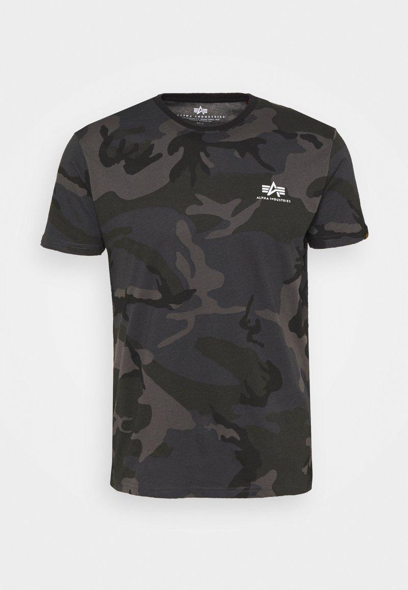 Alpha Industries - CAMO - Print T-shirt - black