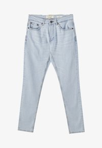 PULL&BEAR - Jeansy Straight Leg - mottled light blue - 5
