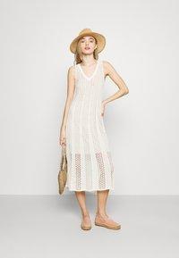 Pepe Jeans - LARA - Gebreide jurk - off white - 1