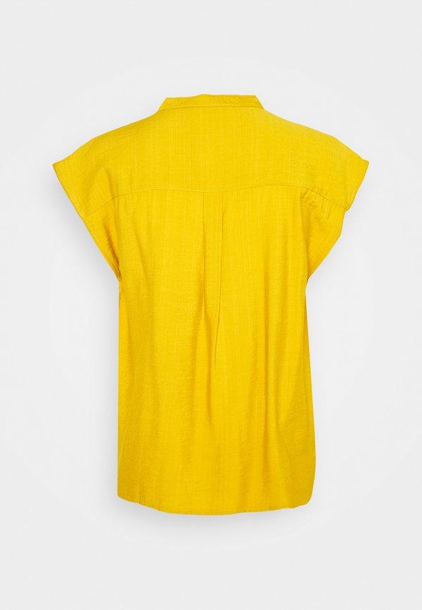 ONLY ONLJOSEY V NECK - T-shirt basic - nugget gold/złoty ISHM