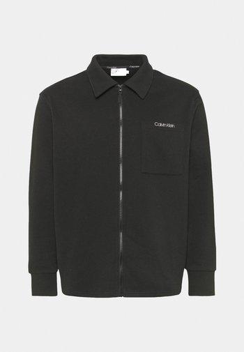 JACKET - Zip-up sweatshirt - black