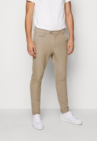 Les Deux - COMO SUIT PANTS SEASONAL - Bukse - dark sand - 0