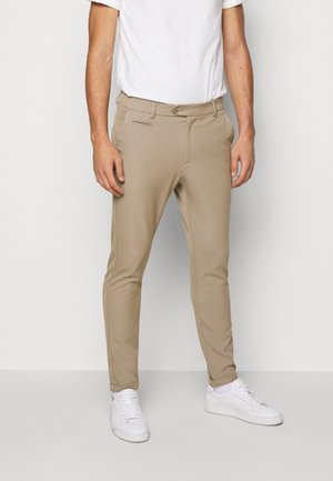 COMO SUIT PANTS SEASONAL - Stoffhose - dark sand