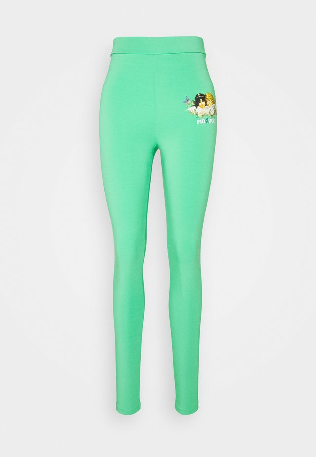 WOODLAND ANGELS - Leggings - green
