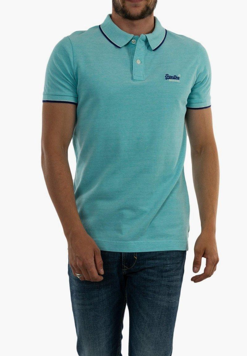 Superdry - Polo shirt - bleu