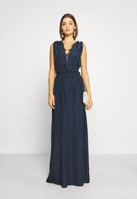 YAS - ELENA BRIDESMAIDS MAXI DRESS - Robe de cocktail - dark sapphire - 1