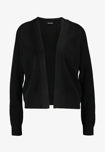 BASIC- SHORT OPEN CARDIGAN