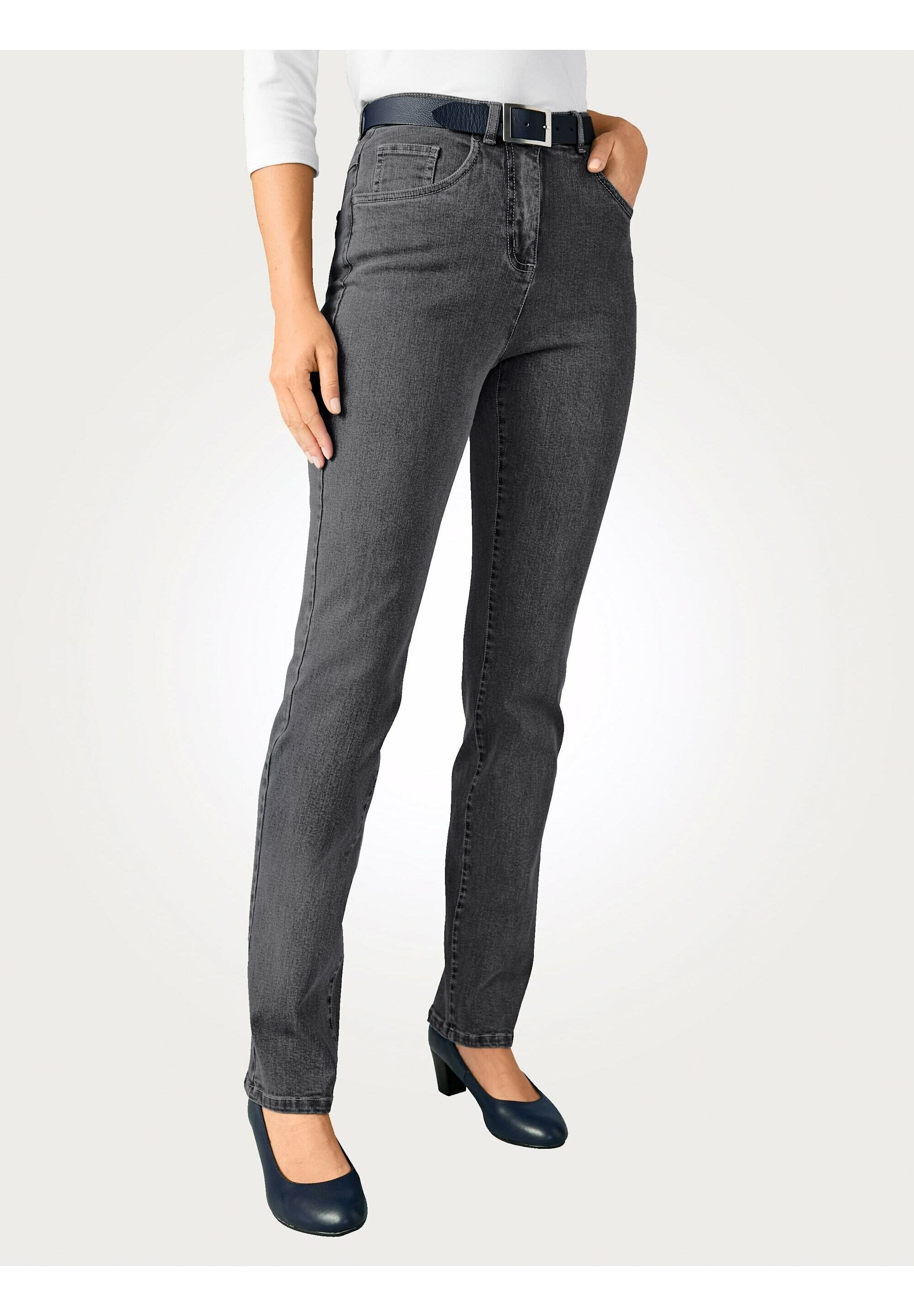 Damen Jeans Relaxed Fit