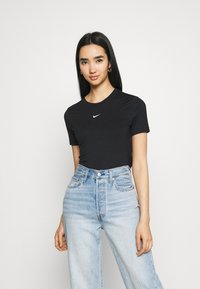 Nike Sportswear - TEE - T-shirt print - black/white - 0