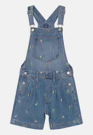 GIRL - Dungarees - blue denim