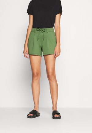 PONTE - Shorts - dull moss green