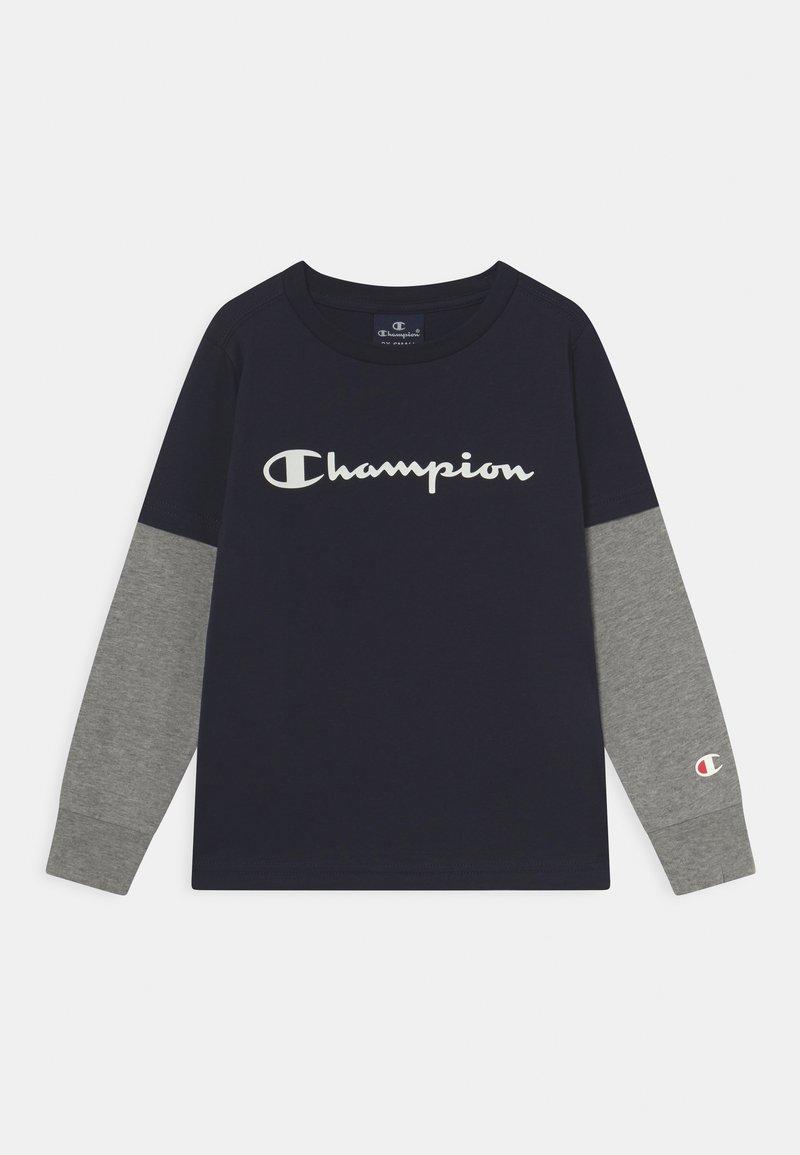 Champion - AMERICAN CLASSICS LONG SLEEVE UNISEX - Maglietta a manica lunga - dark blue