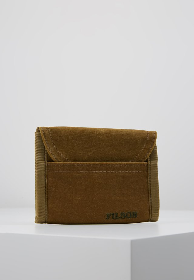 SMOKEJUMPER WALLET - Portemonnee - dark tan