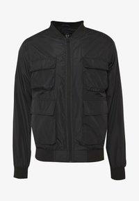 HAIDEN UTILITY  - Summer jacket - black