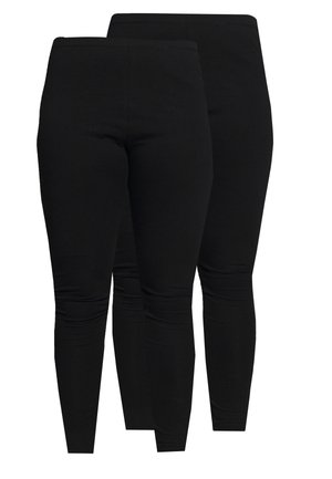 2 PACK - Leggings - Hosen - black