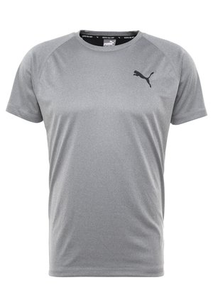 TEE - Basic T-shirt - medium gray heather