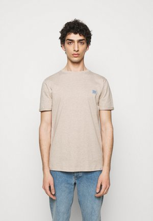 PIECE - Basic T-shirt - light brown melange