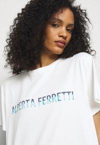 Alberta Ferretti - Print T-shirt - white - 5