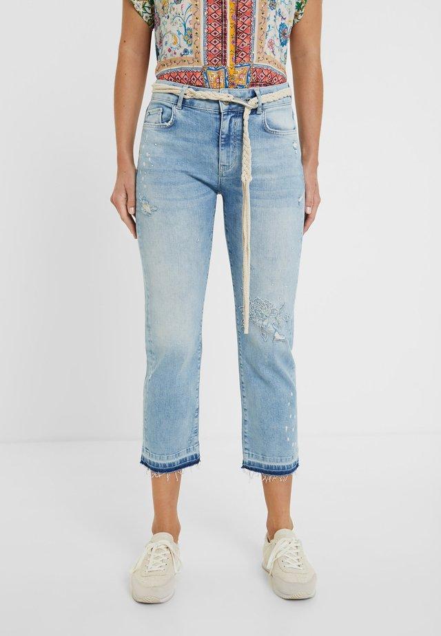 PONDIO - Jeans a sigaretta - blue