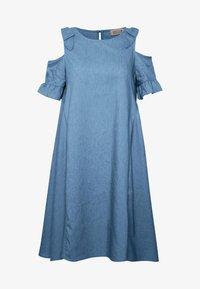 Molly Bracken - LADIES DRESS - Denní šaty - light denim - 4