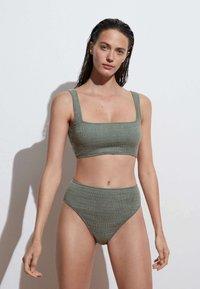 OYSHO - Bikini bottoms - khaki - 0