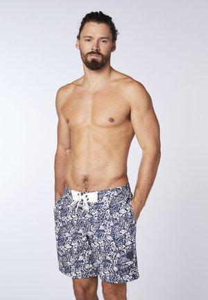 Swimming shorts - white blue