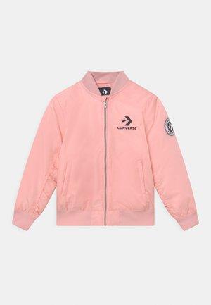 Winter jacket - converse pink