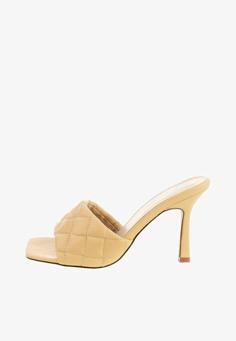 PRIMA MODA - BUONE - Heeled mules - beige