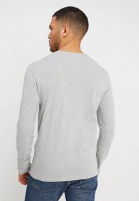 Benetton - BASIC CREW NECK - Bluzka z długim rękawem - light grey - 2