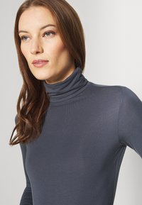 Zign - Long sleeved top - anthracite - 4