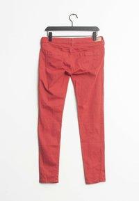 Mango - Straight leg jeans - red - 1